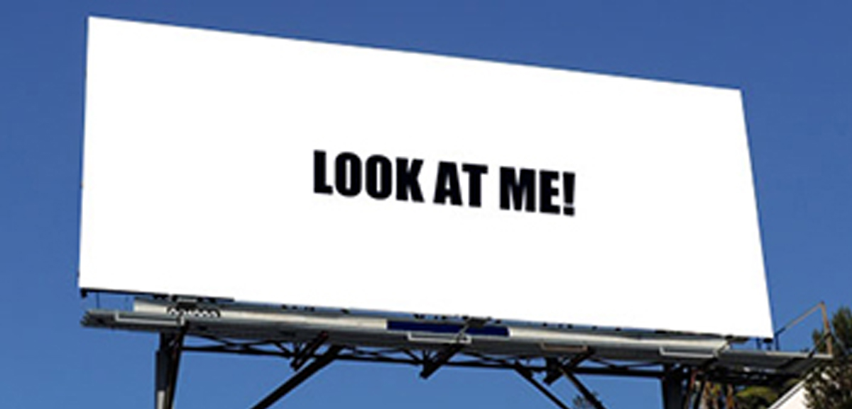 Billboard Message look