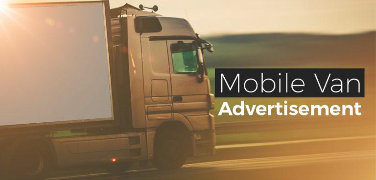 mobile van advertisement