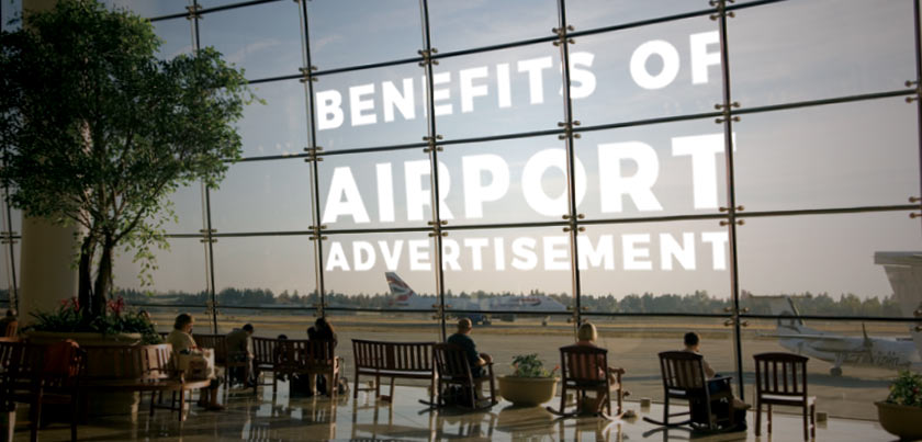 airport advert