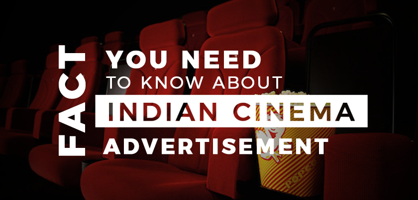Indian cinema advertisement