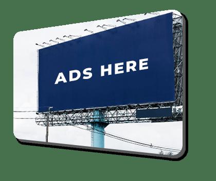 hoarding advertisement