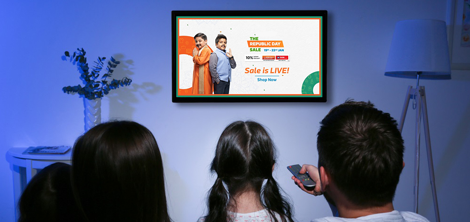 Television Advertising in India for e-commerce brands